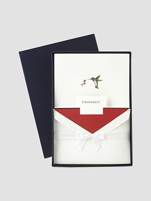 Engraved Hummingbird Note Cards