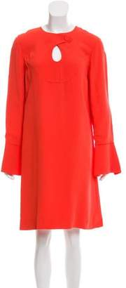 Derek Lam Knee-Length Bell Sleeve Dress