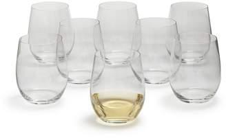 Riedel O Chardonnay Stemless Wine Glasses, Set of 8