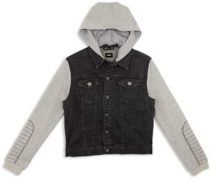 Hudson Boys' Emerson Knit Denim Jacket - Little Kid