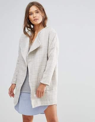 Lunik Oversized Tweed Coat