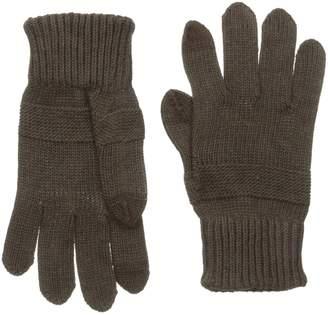 Haggar Men's Tonal Strip Knit Glove