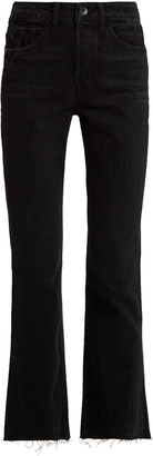 HELMUT LANG High-rise straight-leg jeans $310 thestylecure.com