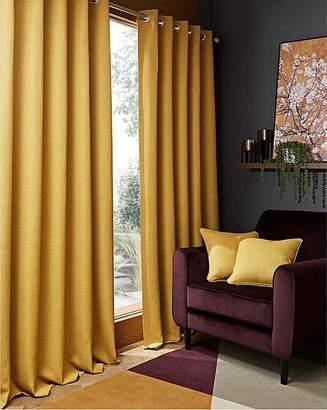 HUGO Marisota Woven Textured Blackout Curtains