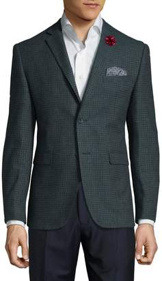 Original Penguin Wool Blend Check Jacket