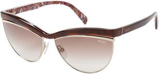 Emilio Pucci EP10 Dark Havana Cat Eye Sunglasses