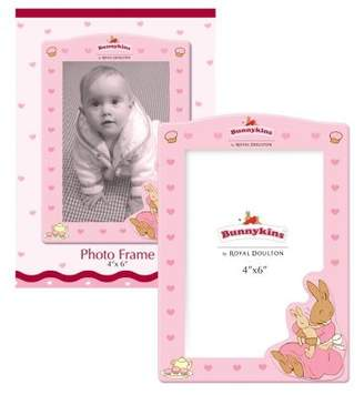 Royal Doulton Pink 4 X 6 Photo Frame - Bunnykins - Great Gizmos