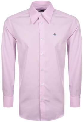 Vivienne Westwood Long Sleeved Shirt Pink