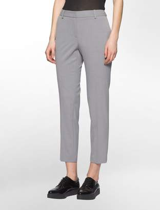 Calvin Klein slim ankle suit pants