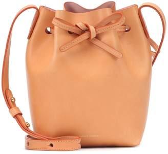 Mansur Gavriel Micro leather bucket bag