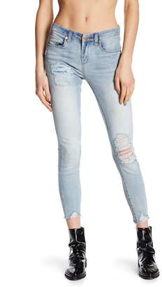 Blank NYC BLANKNYC Denim Rip & Repair Ankle Skinny Jeans
