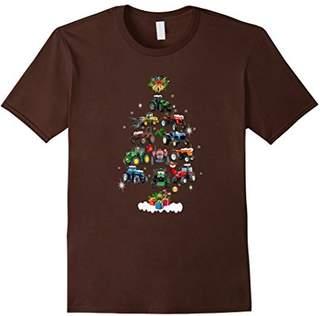 Christmas Tree Tractor Holiday T-shirt