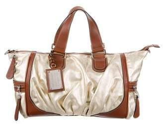 Dolce & Gabbana Metallic Miss Exotic Satchel