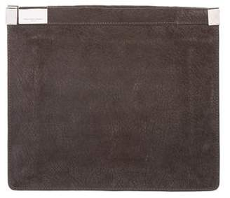 Maison Margiela Suede Leather Clutch