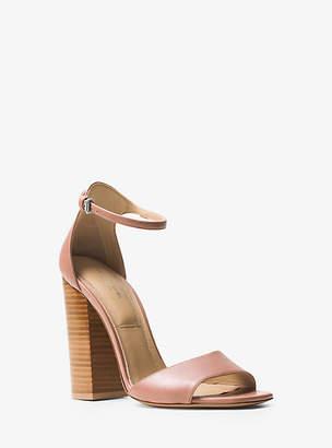 Michael Kors Rosa Leather Sandal