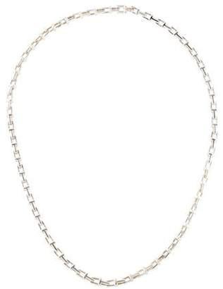 Tiffany & Co. Narrow T Chain Necklace