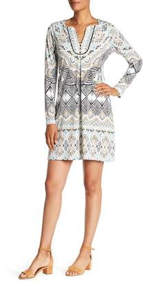 Hale Bob Long Sleeve Dress