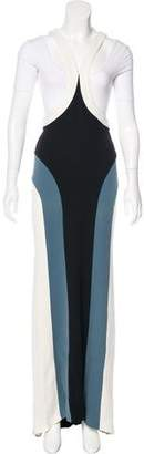 Jean Paul Gaultier Vintage Colorblock Gown