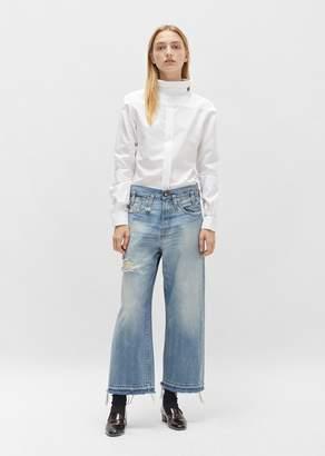 R 13 Sina High Rise Mason Blue Jeans Mason Blue