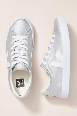Veja Silver Low-Top Sneakers