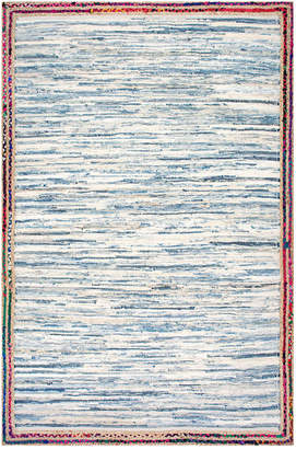 nuLoom Braided Darline Hand Woven Cotton & Jute Natural Fiber Rug