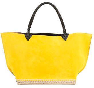 Altuzarra Espadrille Small Suede Tote Bag