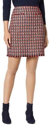 LK Bennett Danna Checked Skirt