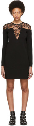 Givenchy Black Lace-Trimmed Dress