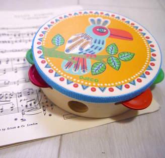 Djeco Crafts4Kids Wooden Tambourine