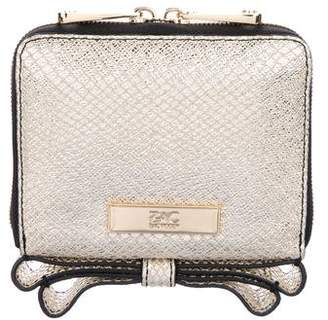 Zac Posen Metallic Milla Wallet