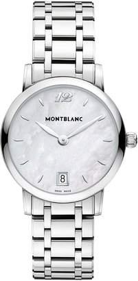 Montblanc Mont Blanc Women's Star Classique 108764 Stainless-Steel Swiss Quartz Watch