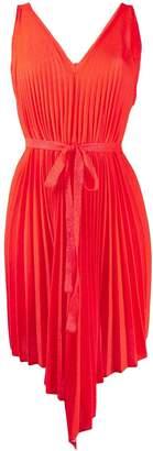 Circus Hotel sleeveless flared dress