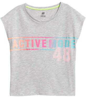 H&M Sports Top - Gray