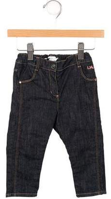 Little Marc Jacobs Girls' Skinny Dark Wash Jeans w/ Tags