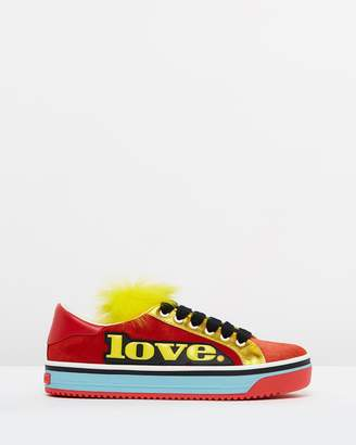 Marc Jacobs Love Empire Faux Fur Sneakers