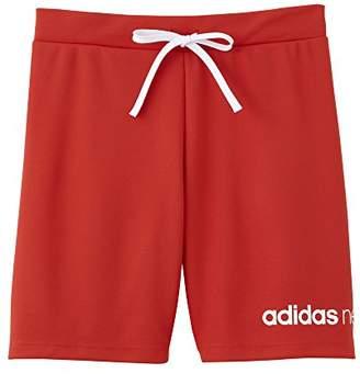adidas (アディダス) - [アディダス ネオ] ズボン下 ロゴ ハーフパンツ ボーイズ ASC37 レッド 日本 150 (日本サイズ150 相当)