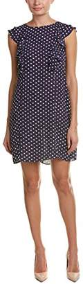Donna Morgan Women's Polka Dot Shift Dress