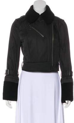 Burberry Zip-Up Casual Jacket Black Zip-Up Casual Jacket