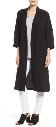 Women's Bobeau Contrast Pocket Duster $79 thestylecure.com