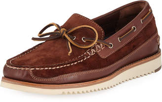 Cole Haan Men's Pinch Rugged Camp Moc Suede Boat Shoes
