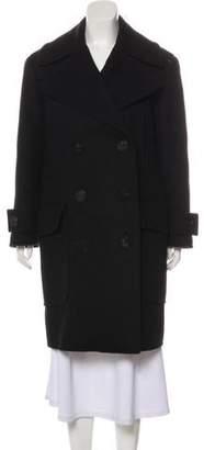 Faith Connexion Virgin Wool Long Coat
