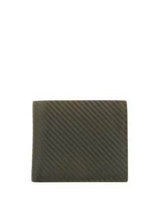 Dunhill Chassis Leather Billfold Wallet, Green