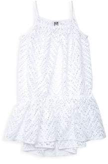 Milly Minis Little Girl's& Girl's Lace Coverup