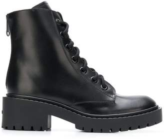 Kenzo rear-zip ankle boots