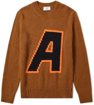 Ami 'A' Intarsia Knit