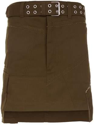Helmut Lang Military Mini Skirt