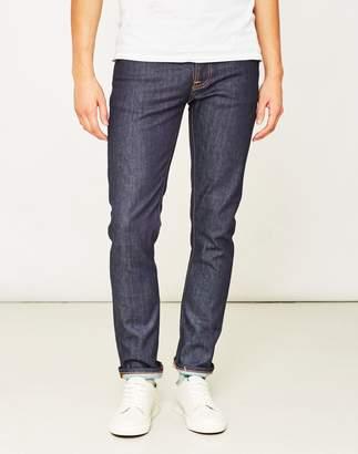 Nudie Jeans Grim Tim Dry Open Navy Jeans