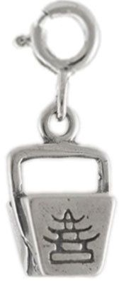 Sterling Chinese Takeout Box Charm