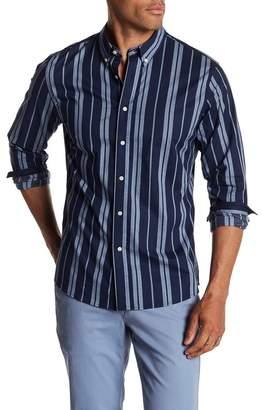 Slate & Stone Regular Striped Long Sleeve Shirt