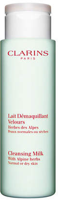 Clarins Cleansing Milk With Alpine Herbs Normal Or Dry Skin